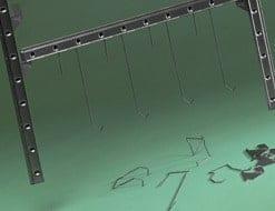 Sistemas de suspensión Masking con cuelgue de carriles